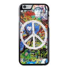 Peace Sign Graffiti Phonecase For iPhone 6/6S Case