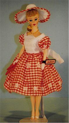 Joshard OOAK make over reproduction Barbie doll 50's look AFKA Joshard Jeff Bouchard
