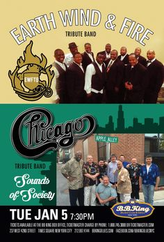 The EWF Tribute Band & Sounds of Society (1.5.16)
