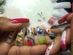 DA CARGA DUPLA AO ONE STROKE, APRENDA COM O ATELIÊ MUNDO DAS UNHAS...(aula 12) - YouTube Nail Art Designs, Engagement Rings, Youtube, Learn Drawing, Nail Design, Nail Art, Art Nails, Adhesive, Atelier