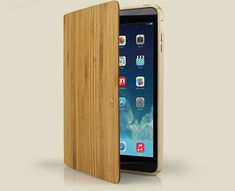 Grove's Wood Smart Case for iPad Air and iPad Mini