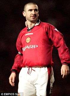 Eric Cantona former midfielder at Manchester United and the French national football team. Eric Cantona, Manchester United Legends, Manchester United Players, Soccer Skills, Soccer Tips, Karting, Mario Kart, Football Players, Football Soccer