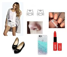 i by marina-lage on Polyvore featuring moda, Boohoo and Casetify