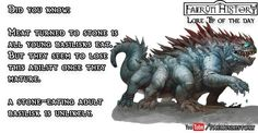Post with 87 votes and 2022 views. Tagged with dungeons and dragons; Forgotten Realms Lore Tips - Week 2 Turn To Stone, Forgotten Realms, Dungeons And Dragons, Viral Videos, Trending Memes, Did You Know, Funny Jokes, Forget, Entertaining