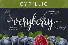 VeryBerry Pro Cyrillic - Script - 1