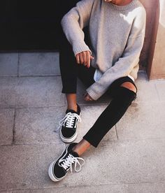 """classy-lovely: """"Sweater» Pants» """""""