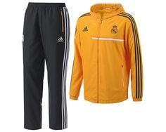 8314d0a51b9ce Chándal de Presentación del Real Madrid Champions League 2013 2014 ...