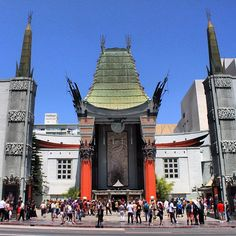 I guess it's not called Grauman's any more. It's always farther from the Pantages than I expect.