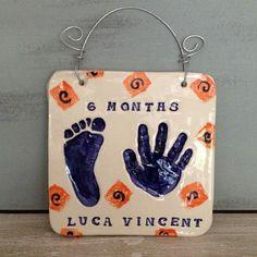 Baby Hands, Baby Feet, Baby Footprints, Pottery Studio, Summer Art, Kids Fashion, Hand Prints, Clay, Christmas Ornaments