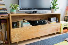 DIY meuble multimedia