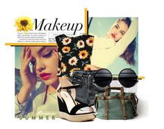 Summer sun :* by danike on Polyvore featuring polyvore, fashion, style, Levi's, DailyLook, Retrò and clothing