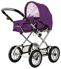 Bayer Chic 2000 600 11 Puppenwagen pink Babypuppen & Zubehör