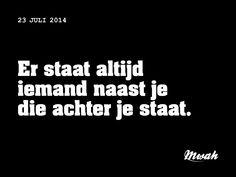 dagelijkse #quote #mwah - steun