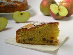 torta integrale di mele e albicocche