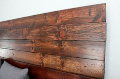 At Home With The Hansens: {Custom Headboard: A Labor of Love}