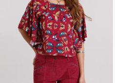 BLUSA BONITA E RÁPIDA DE FAZER – SIHBLOG Shorts, Sewing, Blouse, Blazer, Costa, Clothes, Tops, Women, Fashion