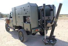 Porta-mortero ALAKRÁN de hasta 120 mm