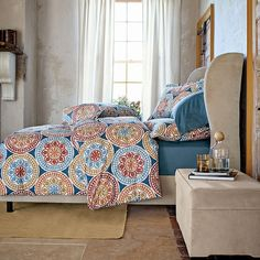 Jaipur Mosaic Percale Bedding | The Company Store