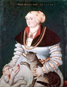 Hans Asper (1499 – 1571), Portrait of Cleophea Holzhalb, 1538