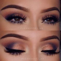 Shadow Couture Palette Morocco in Crease, Bellini & Spoiled in lid, Soft Peach in brow bone, Heirloom on outer crease with a bit of Azure mixed in