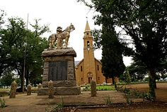 Bothaville NG Kerk en Oorlogsmonument Free State, My Land, Live, Notre Dame, Places To See, South Africa, History, Building, Afrikaans