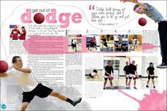 """Franklin High School yearbook pages This goes with a """"paint"""" theme so well!"""