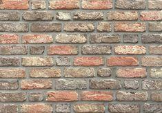 Verblender / Retro Handform Verblender K860-WDF / Klinker / Fassade / Muster / Tafel / rot braun antik