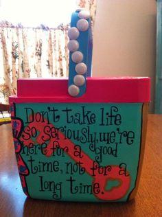 cute cooler idea