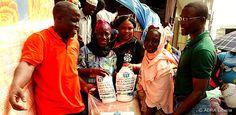Liberia: Neun unserer Mitgliedorganisationen starteten ein gemeinsames Projekt in Liberia, um der von Ebola betroffenen Bevölkerung zu helfen.
