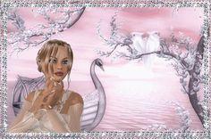 Glitter Gif Picgifs swan 118827
