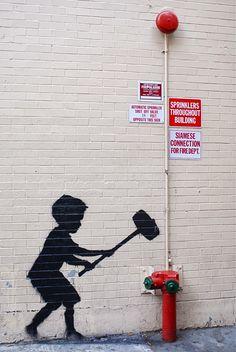 Street Artist: Banksy in NYC