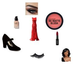 """""""curie in a dress"""" by monsteremma on Polyvore featuring art"""