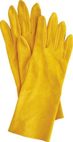 Suede leather gloves #LuiseDoll #DaWanda