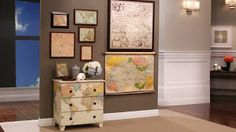 The Handy Chic and her Projects: The map dresser