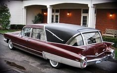 Hearse Cadillac 1960 We have one like this in our Funeral Home.
