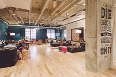 Become a member of the community of creators and join WeWork Congress.
