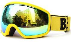 Be Nice Professional Ski Goggles Brand 100% Anti-UV Dual Layer Anti Fog Lens Skiing Equipments Skateboard Goggles Eyewear