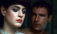"""A hot young Harrison Ford( age and Sean Young in """"Blade Runner"""". Directed by Ridley Scott. Science Fiction, Fiction Movies, Sci Fi Movies, Cult Movies, Film Blade Runner, Blade Runner 2049, Harrison Ford, Stanley Kubrick, Alfred Hitchcock"""