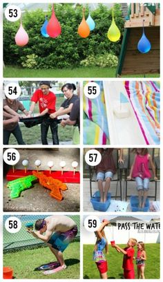 7 Outdoor Water Games