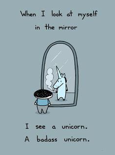 I see a unicorn.