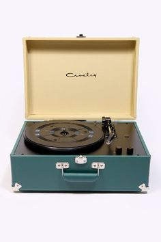 Crosley Green Keepsake Turntable, In love with the color combo