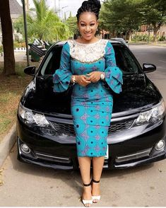 checkout some of the best Classic and modern Ankara styles for ladies! Despite the fact that these material are used to sew female clothing for many years, d African Attire, African Wear, African Women, African Style, African Print Dresses, African Fashion Dresses, African Dress, Ankara Styles For Men, Kente Styles