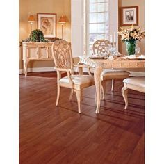 TrafficMaster - TrafficMaster Allure 6 in. x 36 in. Cherry Resilient Plank Flooring (24 sq. ft./case) - 12012 - Home Depot Canada. $47.76 /case
