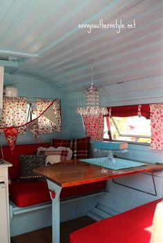 adorable vintage camper!
