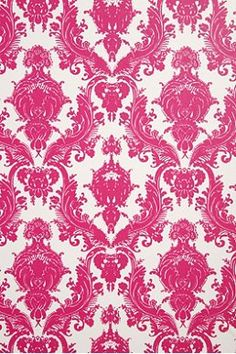 urban outfitters  Damsel Wallpaper- Fuchsia