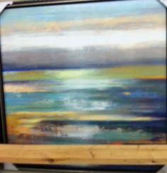 Abstract horizon art