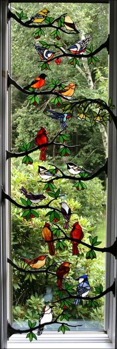 I would want any of these to remind me of Indiana when we leave. I will miss the song birds so much!