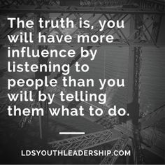 4 Ways to Value the Opinions of Others - LDS Youth Leadership