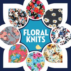 Shop our amazing floral fabric collections only at Girl Charlee Fabrics!