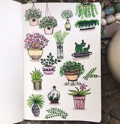 More doodle inspiration! Create cute plant doodles in your bullet journal or planner. Fun, easy to make doodles anyone can draw! Plant Texture, Leaf Texture, Texture Art, Doodle Drawings, Doodle Art, Doodle Inspiration, Plant Drawing, Drawing Drawing, Bullet Journal Inspiration